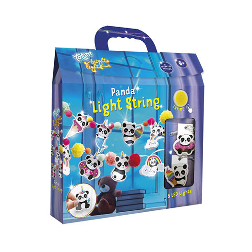071940 TM BL Light String Panda